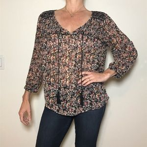 Vince Camuto Peasant Top